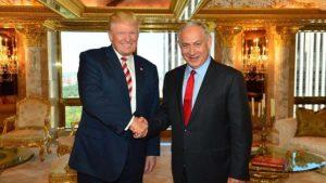 Benjamin Netanyahu Donald Trump (Kobi Gideon, GPO)